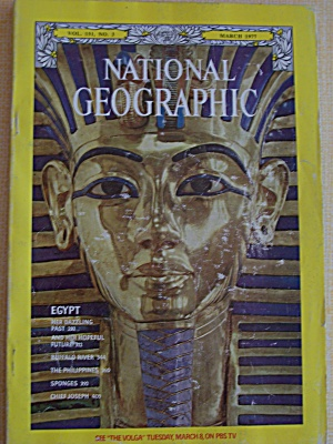 National Geographic, Vol. 151, No. 3, March 1977 (Image1)