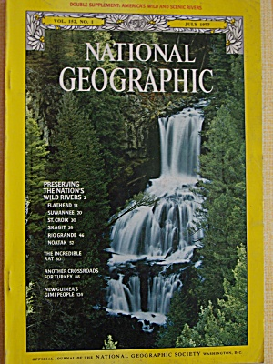 National Geographic, Vol. 152, No. 1, July 1977 (Image1)