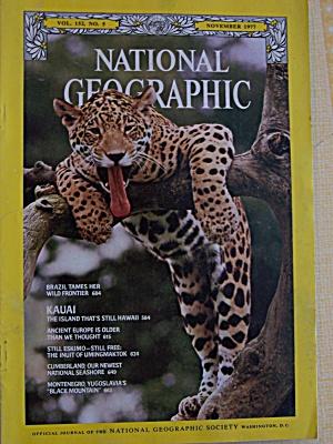 National Geographic, Vol. 152, No. 5, November 1977 (Image1)