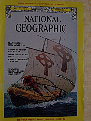 National Geographic, Vol. 152, No. 6, December 1977 (Image1)