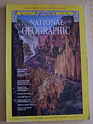 National Geographic, Vol. 154, No. 1, July 1978 (Image1)
