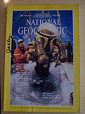 National Geographic, Vol. 164, No. 1, July 1983 (Image1)