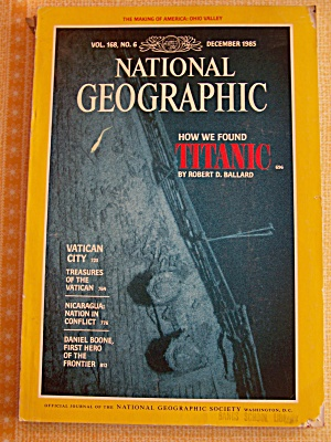 National Geographic, Vol. 168, No. 6, December 1985 (Image1)