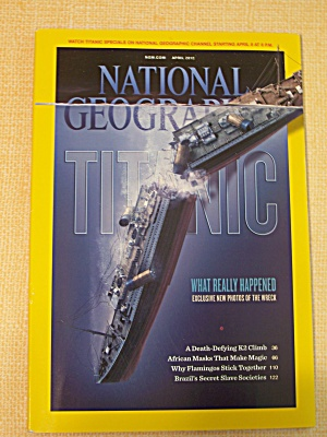 National Geographic, Volume 221, No. 4, April 2012 (Image1)