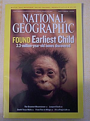 National Geographic, Volume 210, No. 5, November 2006 (Image1)