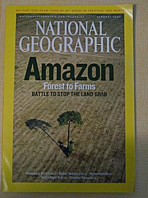 National Geographic, Volume 211, No. 1, January 2007 (Image1)