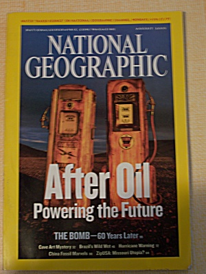 National Geographic, Volume 208, No. 2, August 2005 (Image1)