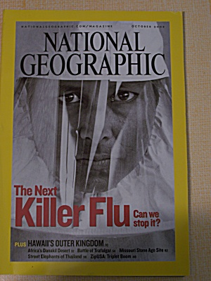 National Geographic, Volume 208, No. 4, October 2005 (Image1)