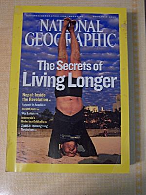 National Geographic, Volume 208, No. 5, November 2005 (Image1)