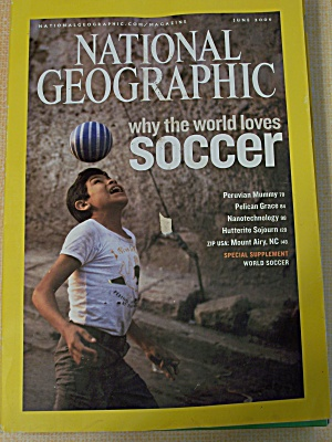 National Geographic, Volume 209, No. 6, June 2006 (Image1)