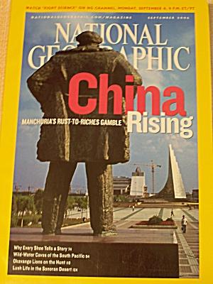 National Geographic, Volume 210, No. 3, September 2006 (Image1)