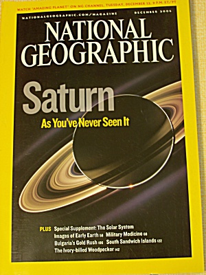 National Geographic, Volume 210, No. 6, December 2006 (Image1)