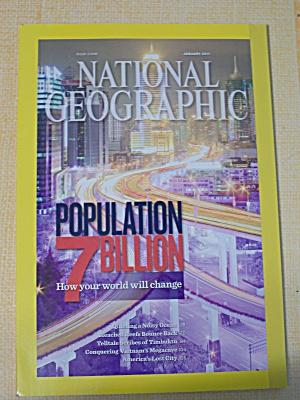 National Geographic, Volume 219, No. 1, January 2011 (Image1)