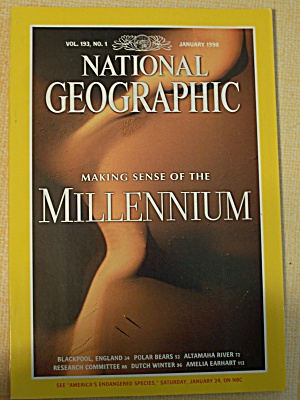 National Geographic, Volume 193, No. 1, January 1998 (Image1)