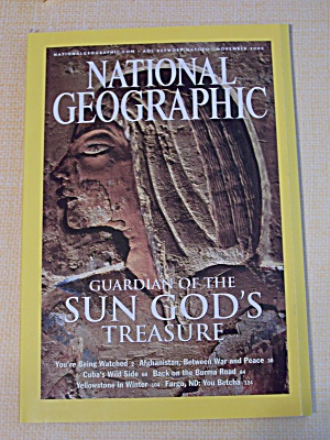 National Geographic, Volume 204, No. 5, November 2003 (Image1)