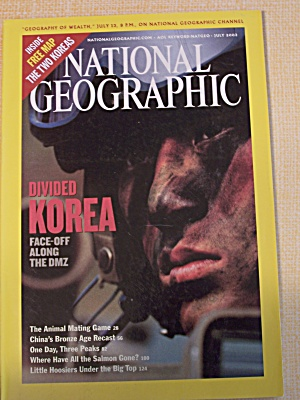 National Geographic, Volume 204, No. 1, July 2003 (Image1)