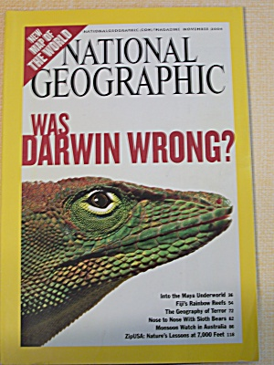 National Geographic, Volume 206, No. 5, November 2004 (Image1)