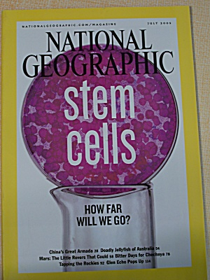 National Geographic, Volume 208, No. 1, July 2005 (Image1)