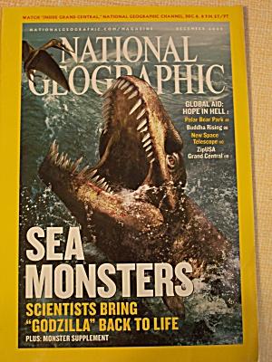 National Geographic, Volume 208, No. 6, December 2005 (Image1)