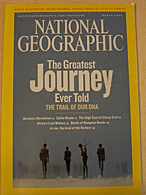National Geographic, Volume 209, No. 3, March 2006 (Image1)