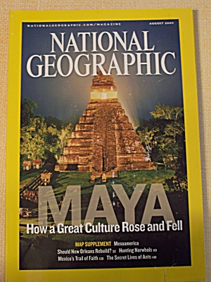 National Geographic, Volume 212, No. 2, August 2007 (Image1)
