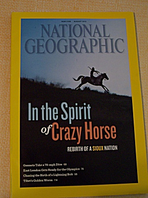 National Geographic, Volume 222, No. 2, August 2012 (Image1)