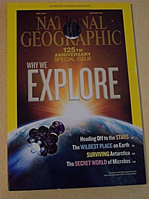 National Geographic, Volume 223, No. 1, January 2013 (Image1)