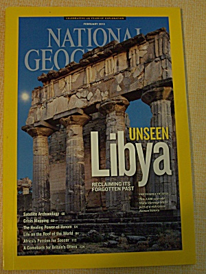 National Geographic, Volume 223, No. 2, February 2013 (Image1)