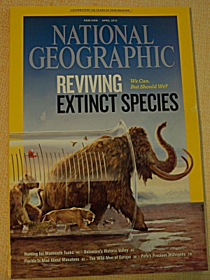 National Geographic, Volume 223, No. 4, April 2013 (Image1)