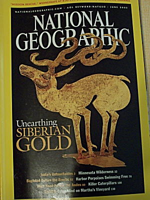 National Geographic, Volume 203, No. 6, June 2003 (Image1)