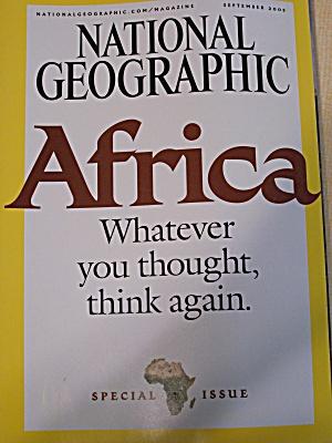 National Geographic, Volume 208, No. 3, September 2005 (Image1)