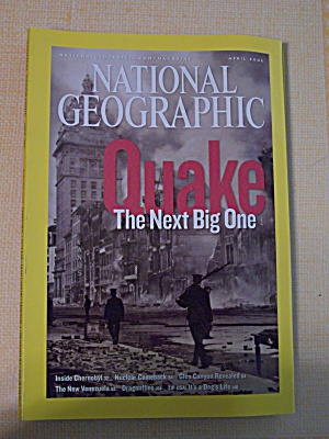 National Geographic, Volume 209, No. 4, April 2006 (Image1)