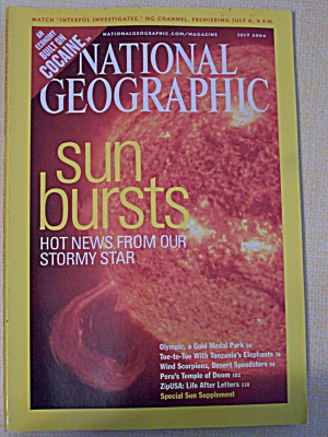 National Geographic, Volume 206, No. 1, July 2004 (Image1)
