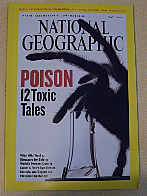 National Geographic, Volume 207, No. 5, May 2005 (Image1)