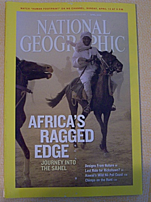 National Geographic, Volume 213, No. 4, April 2008 (Image1)