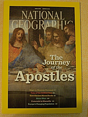 National Geographic, Volume 221, No. 3, March 2012 (Image1)