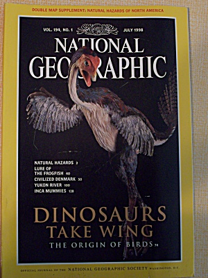 National Geographic, Volume 194, No. 1, July 1998 (Image1)