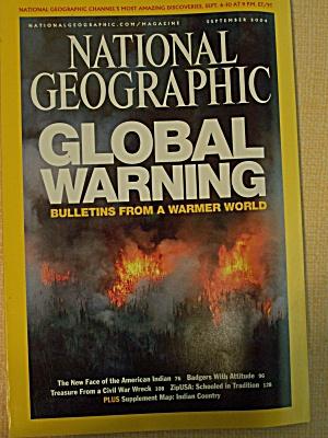 National Geographic, Volume 206, No. 3, September 2004 (Image1)