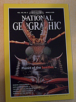 National Geographic, Volume 193, No. 3, March 1998 (Image1)