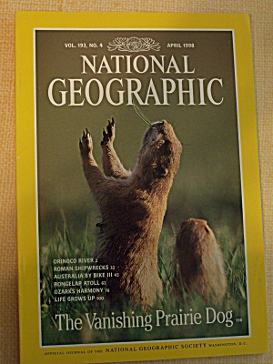National Geographic, Volume 193, No. 4, April 1998 (Image1)