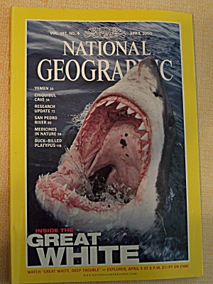 National Geographic, Volume 197, No. 4, April 2000 (Image1)
