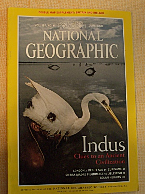 National Geographic, Volume 197, No. 6, June 2000 (Image1)