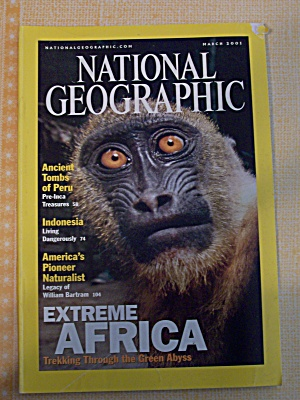 National Geographic, Volume 199, No. 3, March 2001 (Image1)