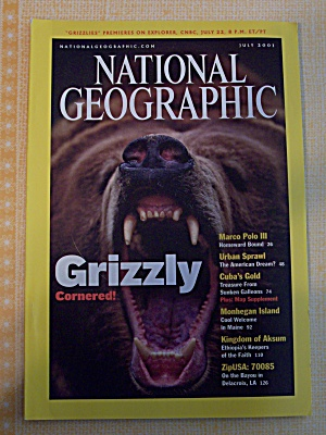 National Geographic, Volume 200, No. 1, July 2001 (Image1)