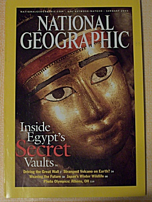 National Geographic, Volume 203, No. 1, January 2003 (Image1)