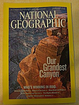 National Geographic, Volume 209, No. 1, January 2006 (Image1)