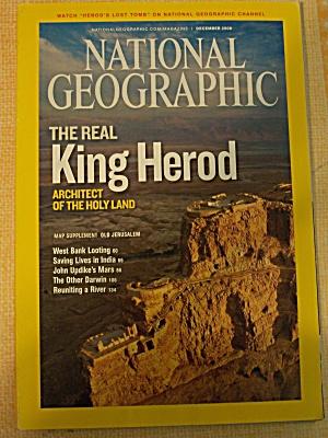 National Geographic, Volume 214, No. 6, December 2008 (Image1)