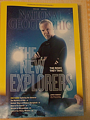 National Geographic, Volume 223, No. 6, June 2013 (Image1)
