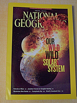 National Geographic, Volume 224, No. 1, July 2013 (Image1)
