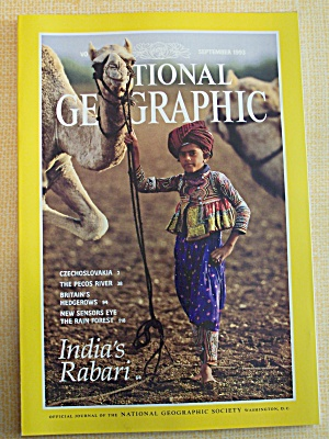 National Geographic  September 1993 (Image1)